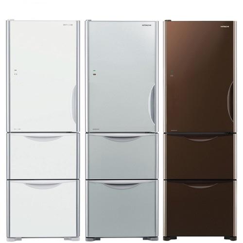 HITACHI日立394公升三門冰箱RG41BL/RG41BLGBW琉璃棕(已94折優惠)