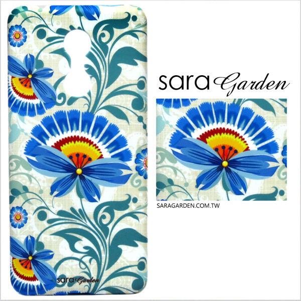 【Sara Garden】客製化 手機殼 小米 紅米5Plus 保護殼 硬殼 優雅花卉