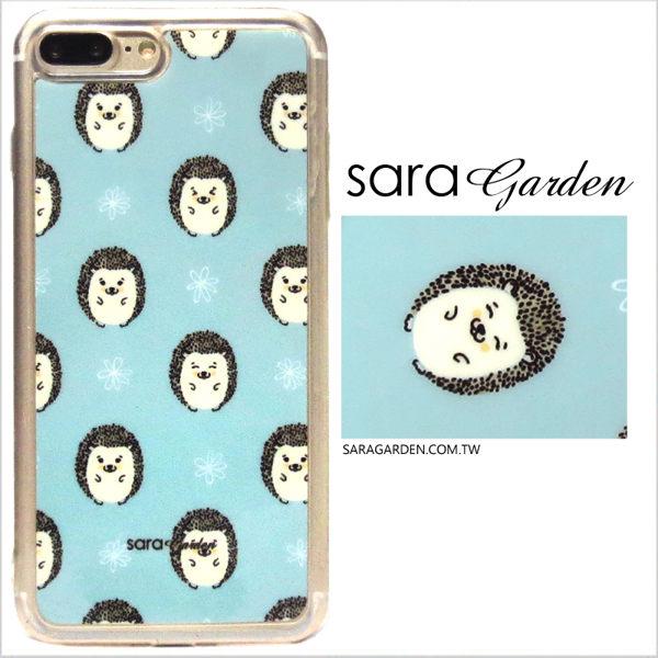 【Sara Garden】客製化 軟殼 蘋果 iPhone 6plus 6SPlus i6+ i6s+ 手機殼 保護套 全包邊 掛繩孔 可愛刺蝟
