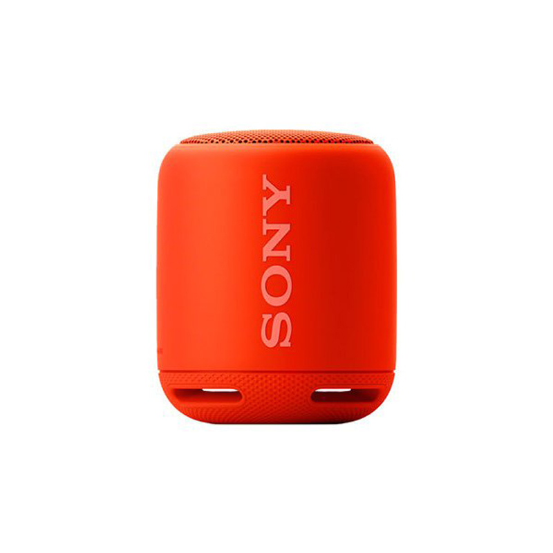 【SONY 索尼】 SRS-XB10 可攜式防潑灑 藍芽喇叭 紅色