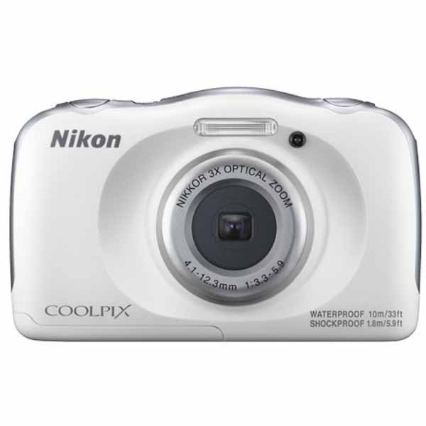 Nikon COOLPIX W100 白色-防水相機 公司貨