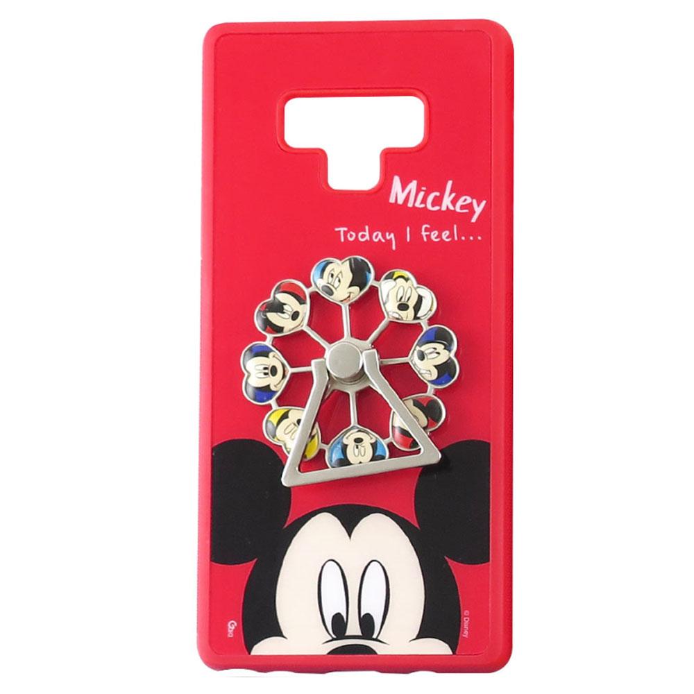 Disney迪士尼三星Galaxy Note9摩天輪系列防手滑殼套 米奇