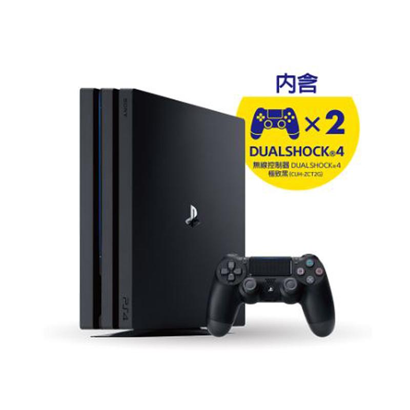 PS4 Pro CUH-7218系列 1TB 極致黑 加贈手把1隻 限量特賣
