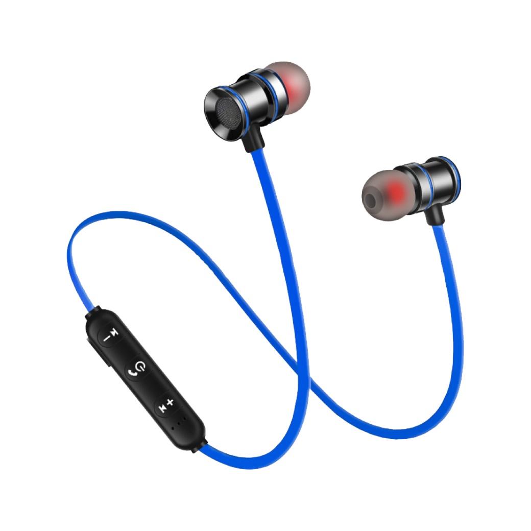 SANSUI山水磁吸式藍芽無線耳機SBE-70BL