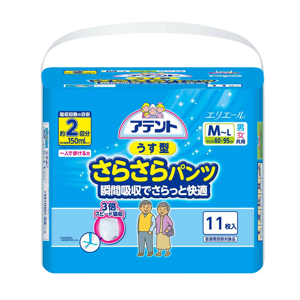 日本大王 Attento超透氣舒適復健褲M~L11片/包x6包(成箱出貨)