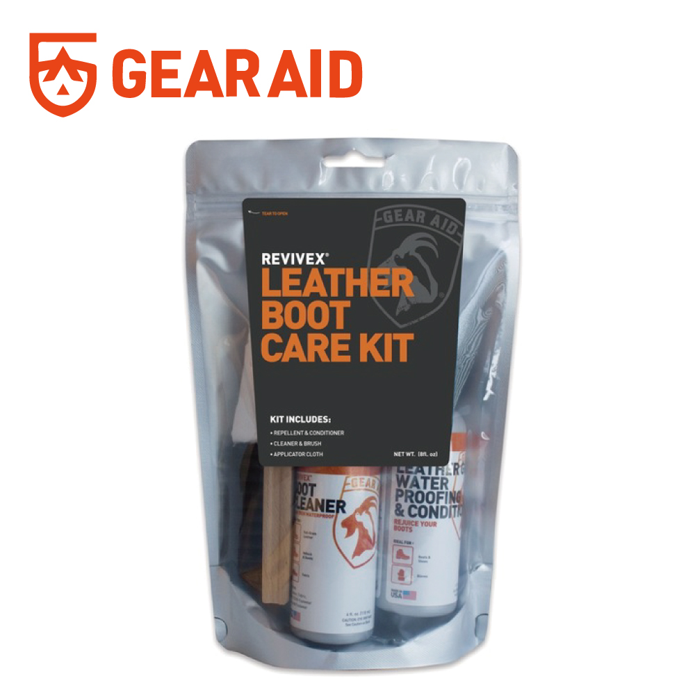 【美國GearAid】ReviveX Leather Boot Care Kit皮革保養組