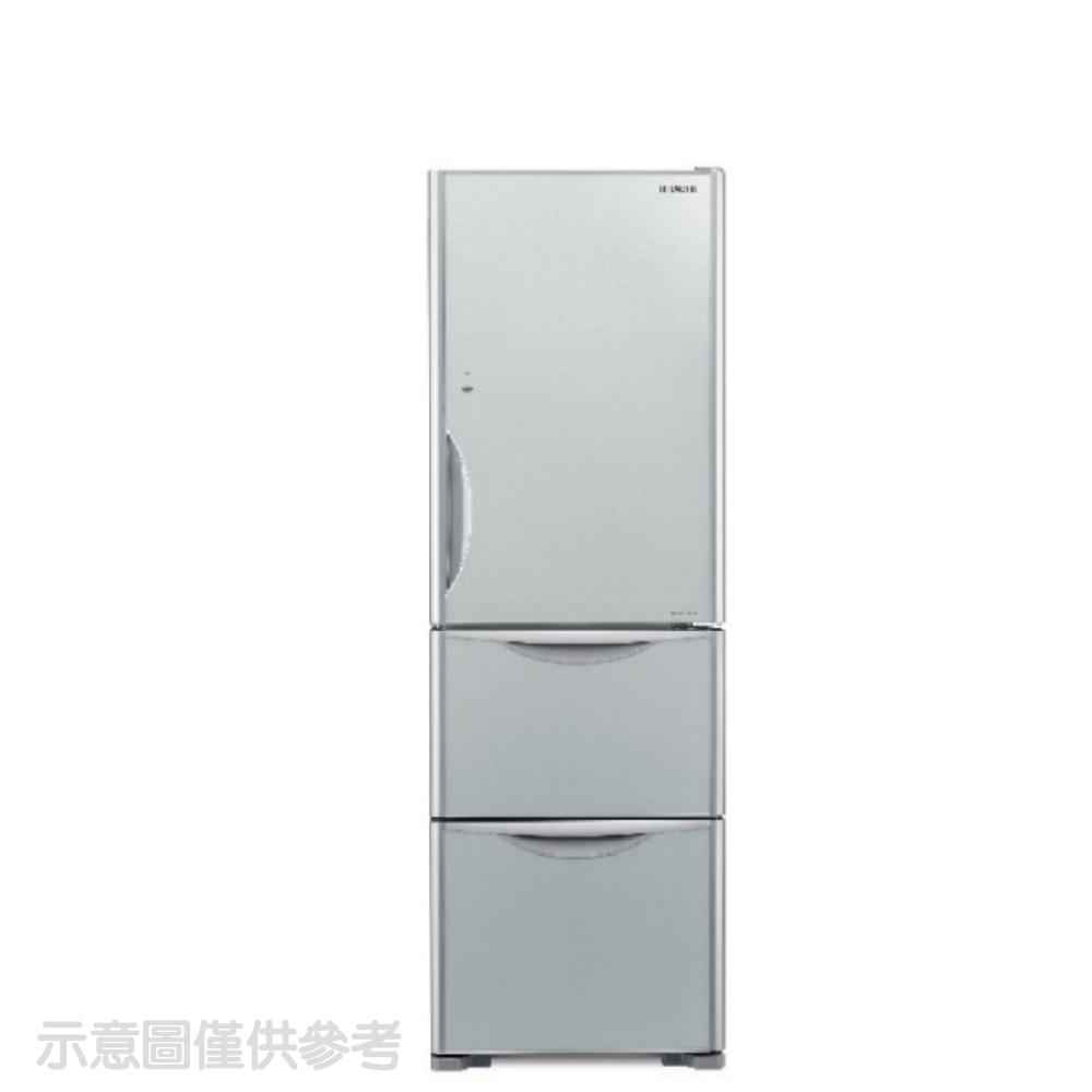 日立331公升三門(與RG36BL同款)冰箱GSV琉璃灰RG36BLGSV