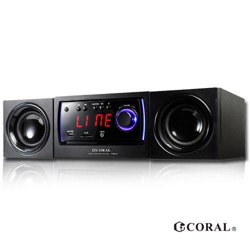 CORAL PM301 - DVD迷你床頭音響