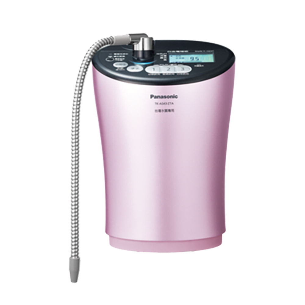 ★靜態陳列品出清★Panasonic 國際牌 TK-AS43 鹼性離子整水器 粉色