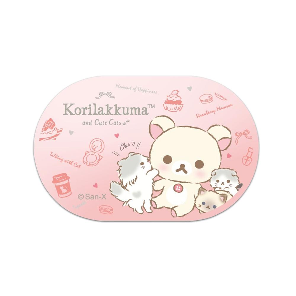 【正版授權】Rilakkuma拉拉熊 藍牙5.0 真無線耳機-親親小白熊