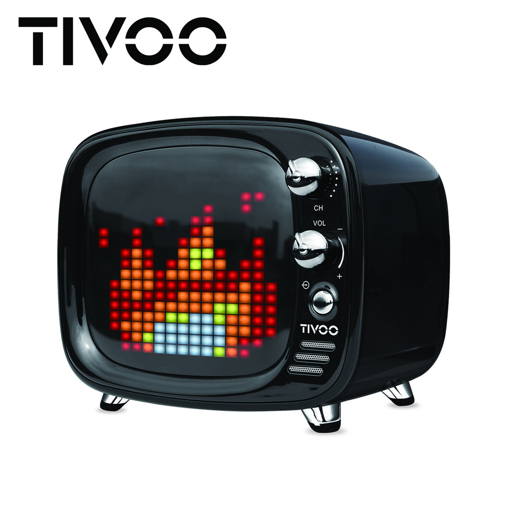 【DIVOOM】TIVOO 光音舞動智慧藍牙喇叭 - 午夜黑