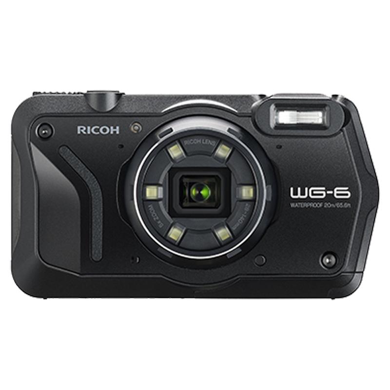 RICOH WG-6 黑色_全天候防水機(公司貨)