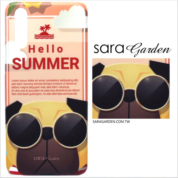 【Sara Garden】客製化 手機殼 Samsung 三星 Note8 保護殼 硬殼 插畫巴哥狗狗