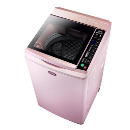 SANLUX台灣三洋 媽媽樂12kgDD直流變頻超音波單槽洗衣機 櫻花粉夢幻 SW-12DVG-P