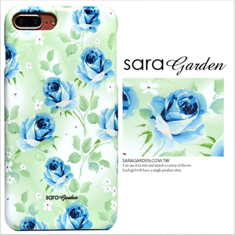 【Sara Garden】客製化 手機殼 小米 紅米5Plus 漸層玫瑰碎花 保護殼 硬殼