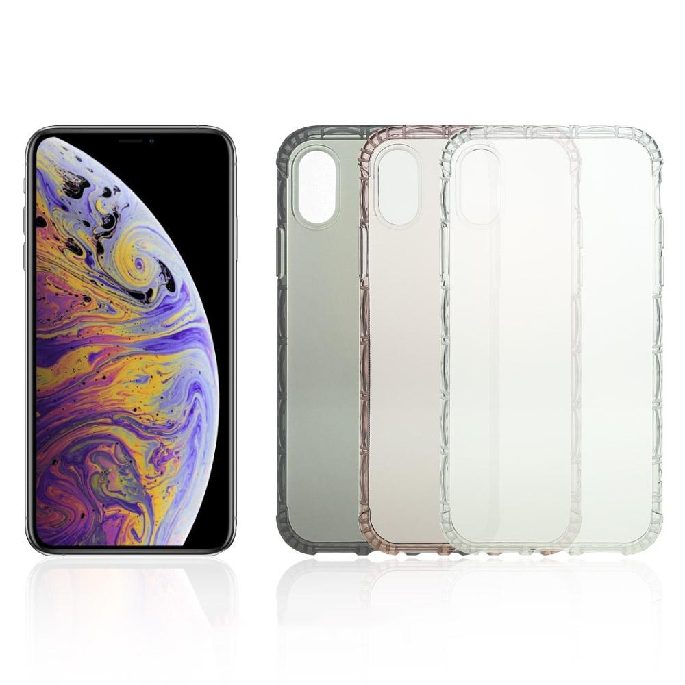 X 世代 Apple iPhone Xs Max 軍規防摔殼(玫瑰金)