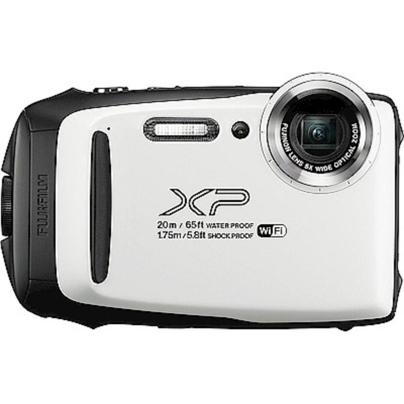FUJIFILM XP140防水潛水相機 -白色 恆昶公司貨 送64G高速卡+專用電池+專用座充+自拍棒+清潔組+保護貼+讀卡機+原廠相機包