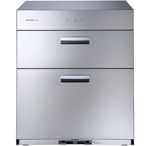 (含標準安裝)櫻花落地式全平面落地式68cm(與Q7692同款)烘碗機銀色Q-7692