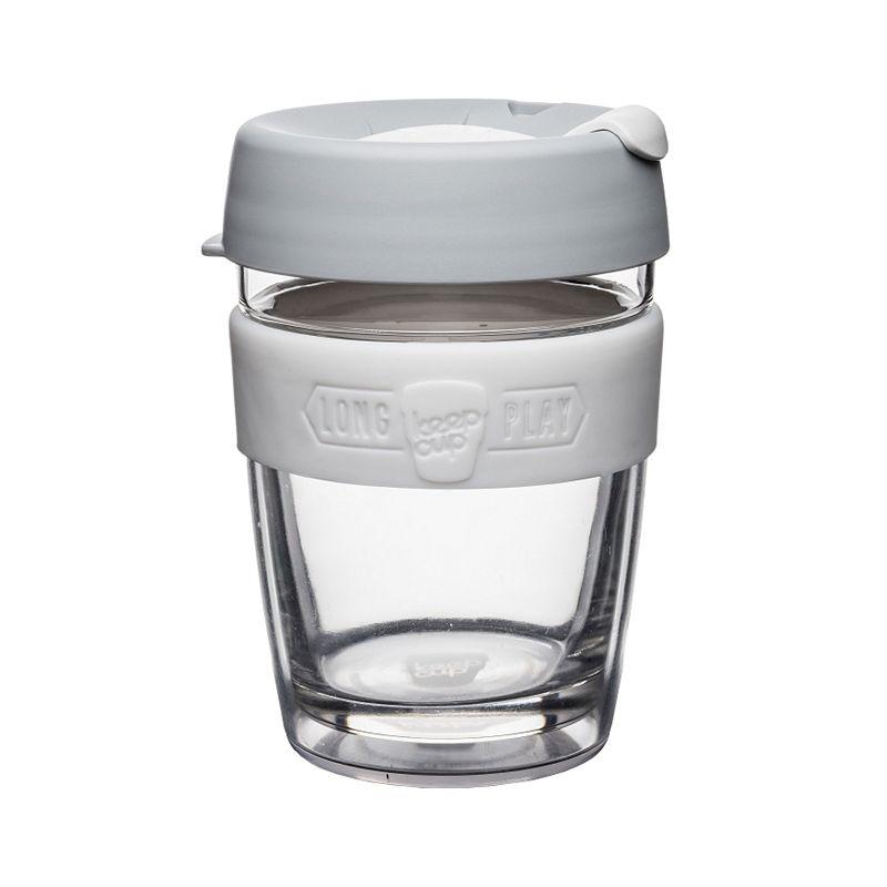 澳洲 KeepCup 雙層隔熱杯 M - 白咖啡
