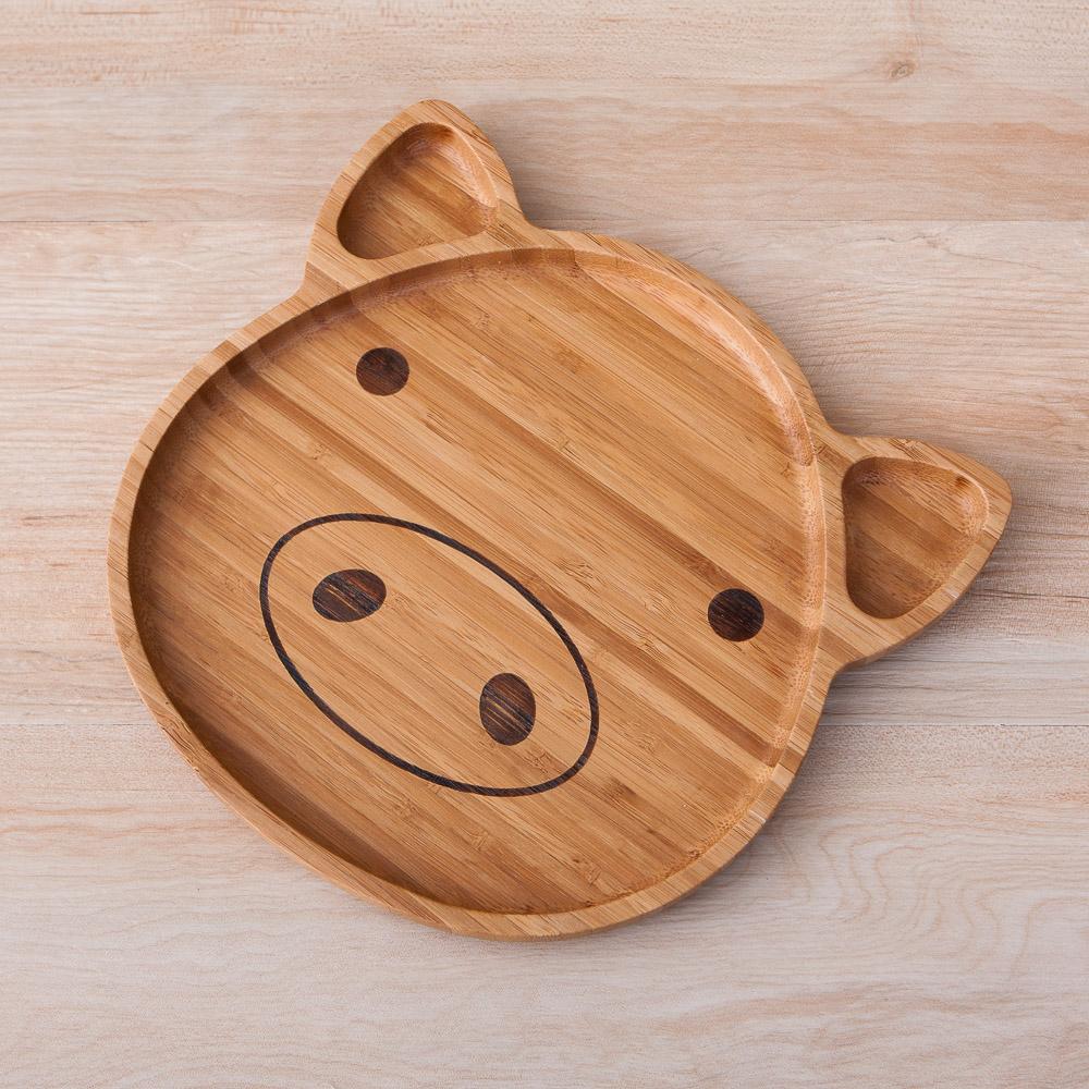 Natural動物餐盤-小豬-生活工場