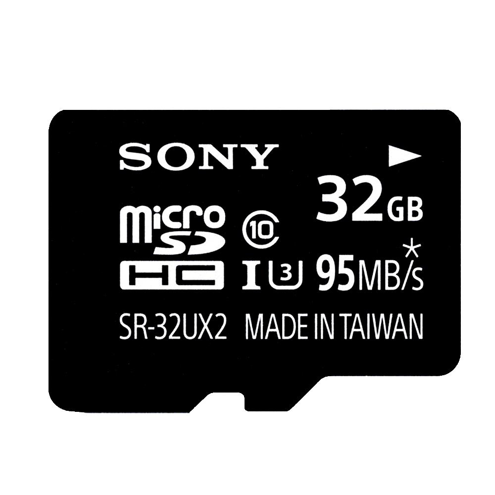 ★秋冬激省價↘9折SONY 32GB microSDHC UHS-I U3 C10 極速記憶卡
