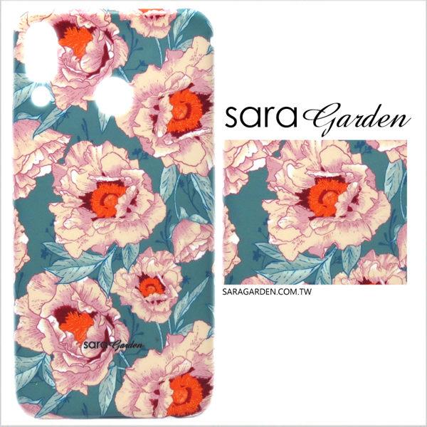 【Sara Garden】客製化 手機殼 SONY XA2 保護殼 硬殼 復古碎花