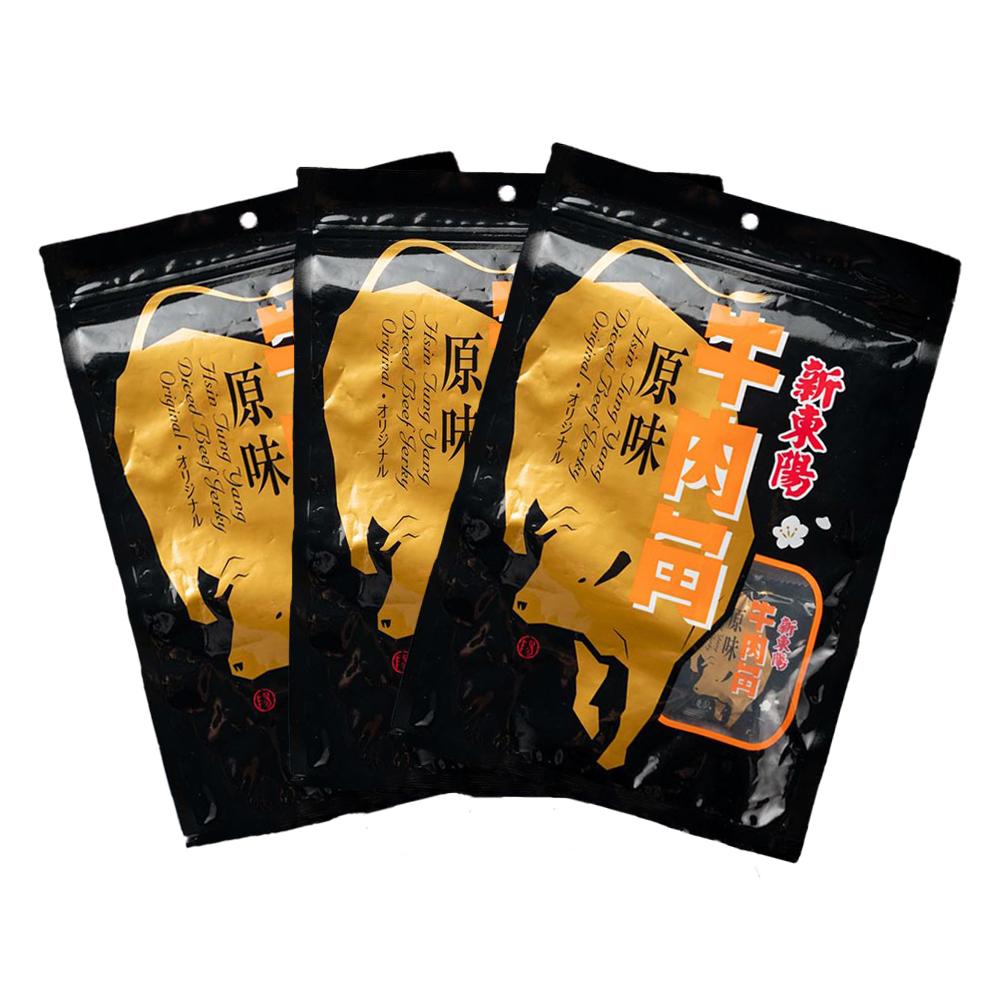 【新東陽】牛肉角原味 (210g*3包)