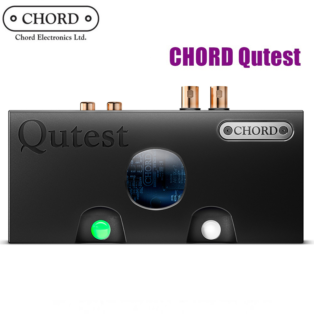 英國 Chord Qutest DAC 純數類轉換器/加碼送比利時DOMO養生調理機