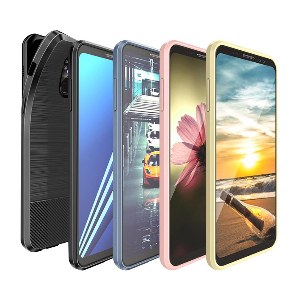 DUX DUCIS SAMSUNG Galaxy A8+(2018) MOJO 保護套(黑色)