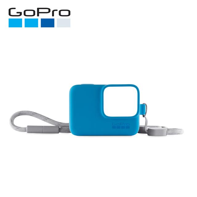 GoPro 矽膠護套 ACSST-003 藍色 公司貨