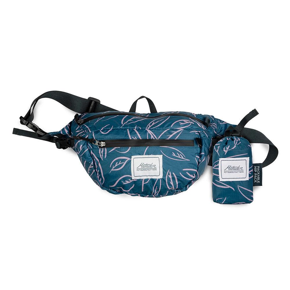 Matador鬥牛士DayLite Packable Hip Pack 防水旅行腰包-熱帶風情