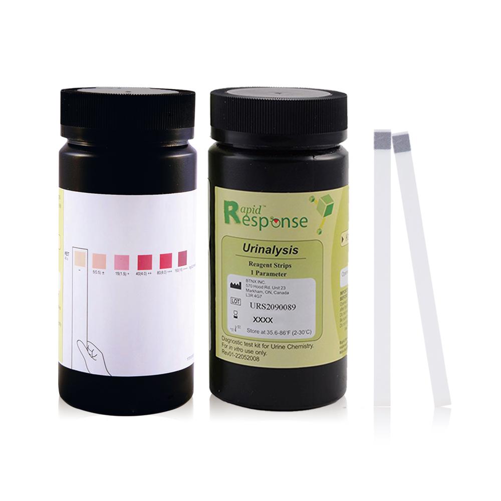 【加拿大BTNX】脂肪代謝生酮尿酮檢測試紙(6刻度/100入)