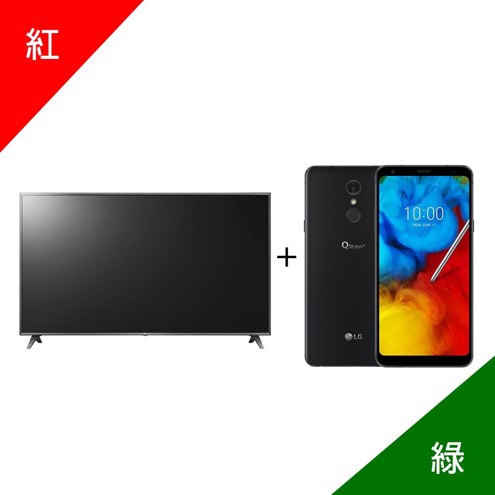 LG 50UK6500PWC送基本安裝 加 LG Q Stylus+【尾牙特別組】