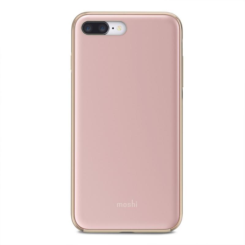 moshi iGlaze 風尚晶亮保護殼 iPhone8 Plus/7 Plus 粉
