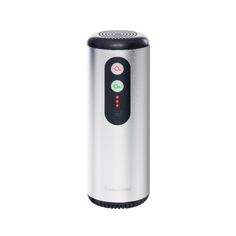 (2入組)【安伯特】神波源 太極K3臭氧無線 車用空氣清淨機 USB供電 臭氧殺菌 負離子淨化
