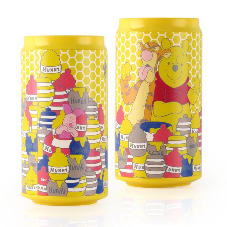 Disney迪士尼 10400 蜂蜜維尼 飲料罐造型行動電源/移動電源-主題