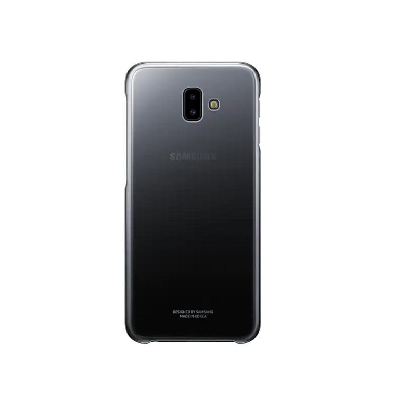 SAMSUNG Galaxy J6+ 漸層透明背蓋 黑