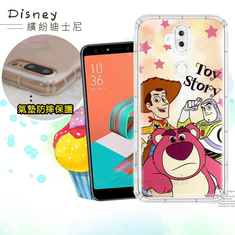 迪士尼授權正版 ASUS ZenFone 5Q ZC600KL 繽紛空壓安全手機殼(玩具總動員)