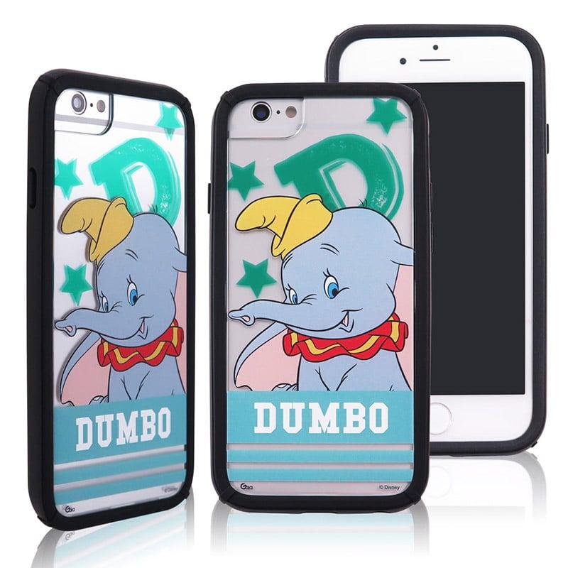 迪士尼│宙斯鎧甲 iPhone 6/6s/7/8(4.7吋)防摔殼_字母系列_小飛象