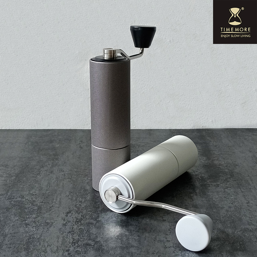 TIMEMORE泰摩 栗子C2 MAX手搖磨豆機(加大容量) –格紋黑