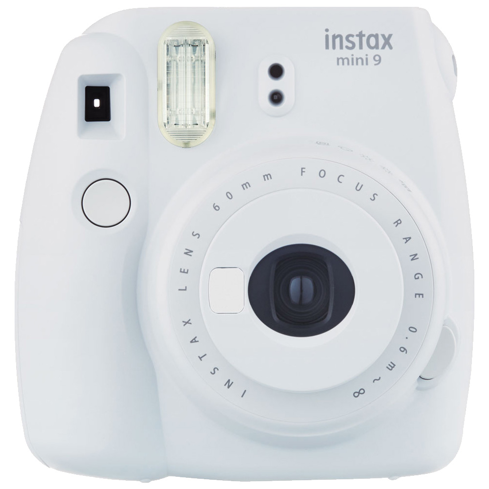 FUJIFILM instax mini 9 超值七件組合 拍立得相機(公司貨)_輕煙白