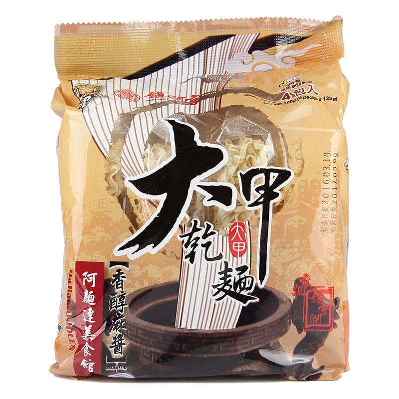 【大甲乾麵】鎮瀾宮系列-香醇麻醬口味(4入/袋)