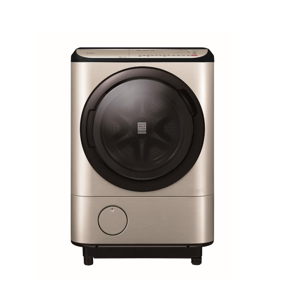 回函贈★日立12.5公斤溫水滾筒(與BDNV125FH同款)洗衣機璀璨金BDNV125FHN