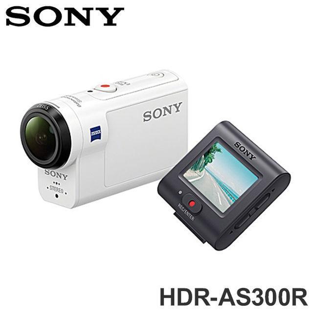 SONY HDR-AS300R運動型 攝影機 公司貨 再送64G卡電池座充超值組大全配
