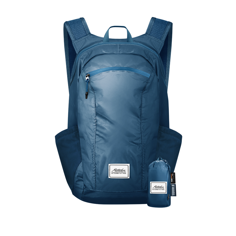 Matador DL16 Backpack 口袋型防水背包-藍色