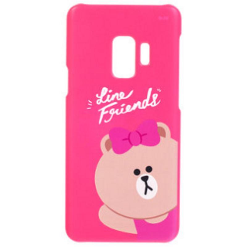 SAMSUNG Galaxy S9 LINE Choco熊大妹 FRIENDS 背蓋