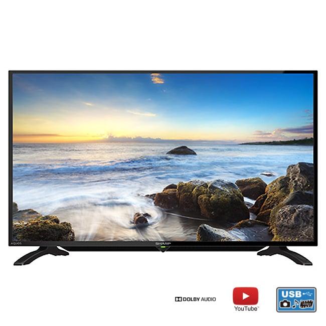 ★含標準安裝【SHARP夏普】45吋FHD連網液晶電視 LC-45LE380T