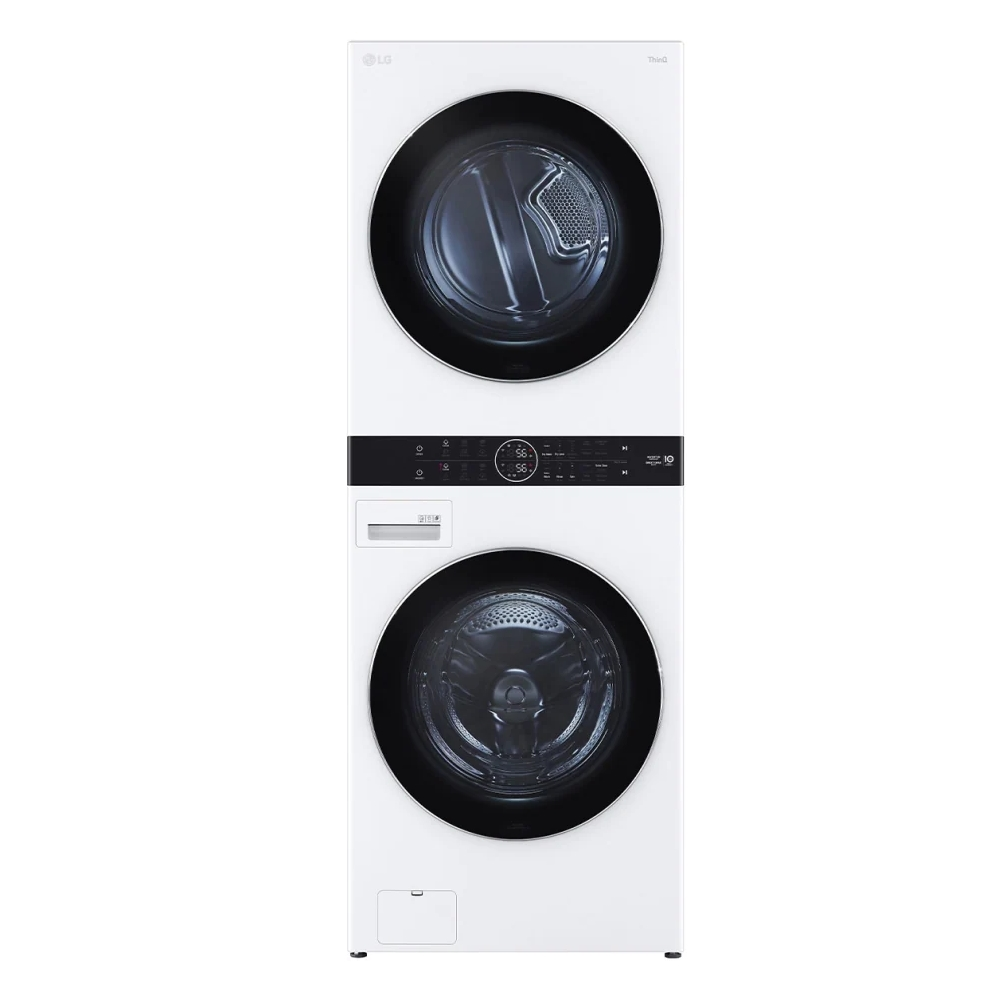 LG樂金WashTower19公斤AI智控白色洗衣塔洗乾衣機WD-S1916W