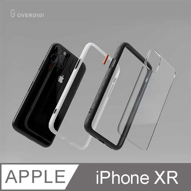 OVERDIGI OC Diamond iPhone XR 鑽石框抗污防摔邊框殻 酒澤紅