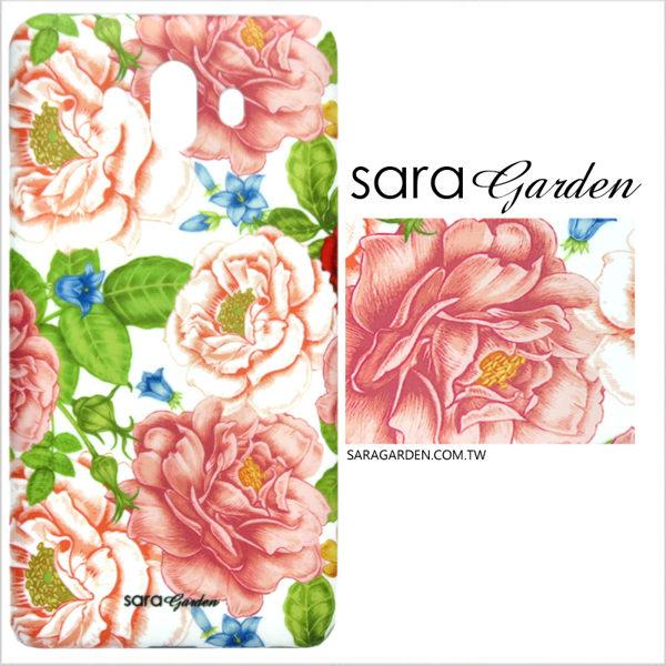 【Sara Garden】客製化 手機殼 蘋果 iPhone7 iphone8 i7 i8 4.7吋 保護殼 漸層花叢碎花